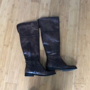 Ms Albright Anthropologie over the knee boots